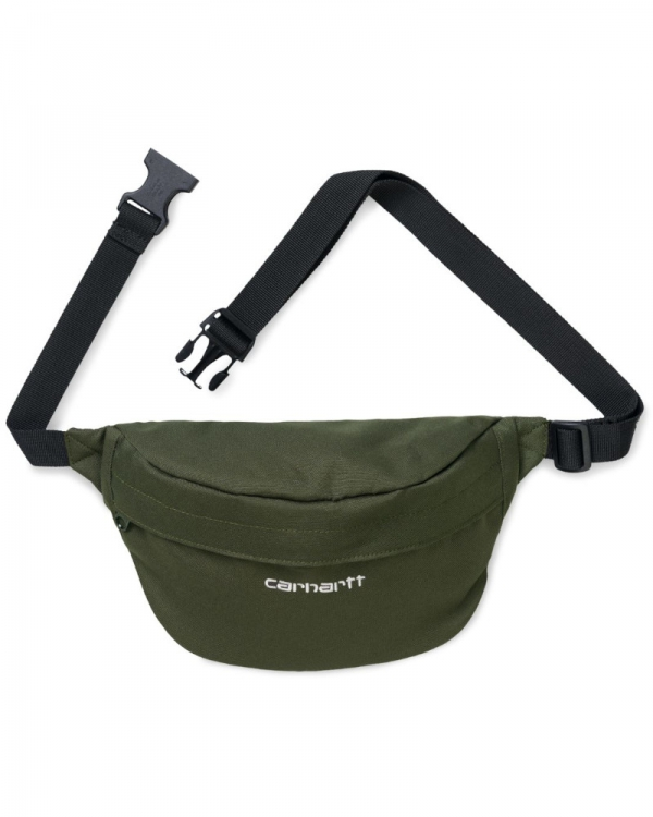 Carhartt WIP Payton Hip Bag (cypress/white)