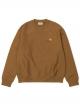 Carhartt WIP American Script Sweater (hamilton brown)