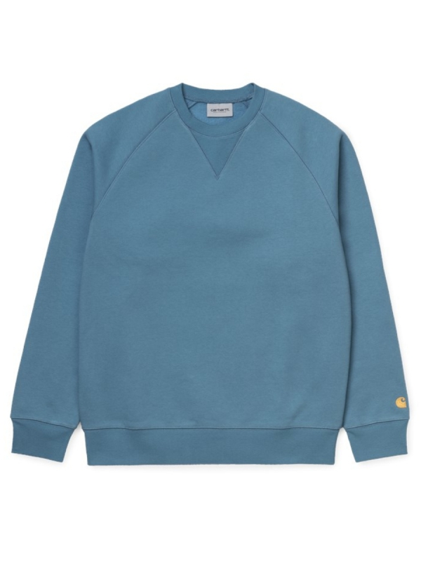 Carhartt WIP Chase Sweater (mossa/gold)