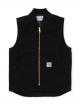 Carhartt WIP Classic Vest (black rinsed)