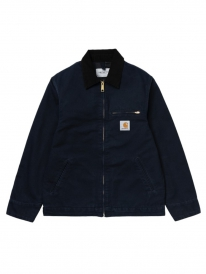 Carhartt WIP Detroit Jacket (dark navy rinsed)