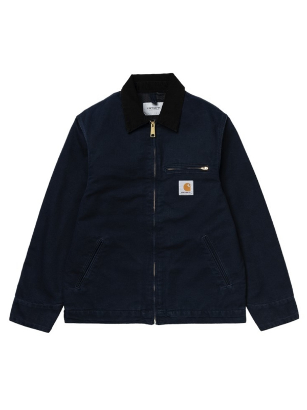 Carhartt WIP Detroit Jacket (dark navy rinsed)
