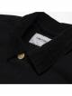 Carhartt WIP Michigan Coat (black rinsed)