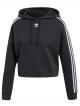 Adidas Cropped Hoodie (black)