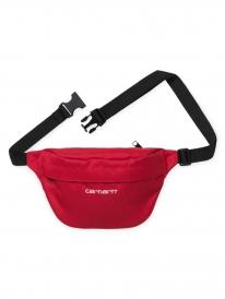 Carhartt WIP Payton Hip Bag (etna red/white)