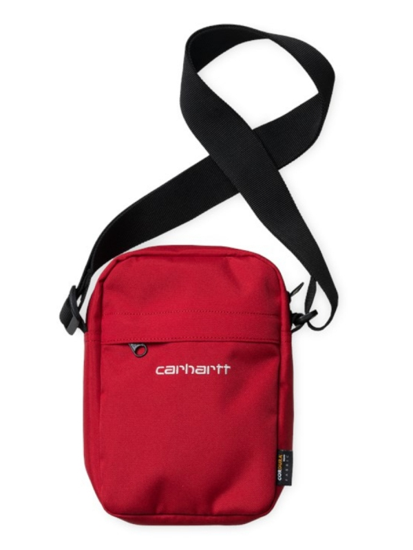 Carhartt WIP Payton Shoulder Pouch (etna red/white)