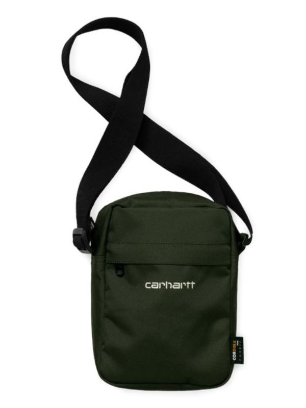Carhartt WIP Payton Shoulder Pouch (cypress/white)