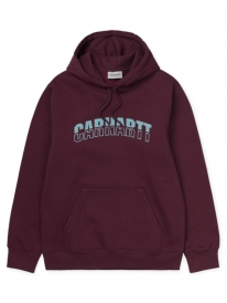 Carhartt WIP District Hoodie (shiraz/window)