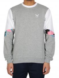 Iriedaily Ninetynine Crew Sweater (grey melange)