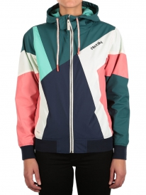 Iriedaily Puzzled Jacket (dark teal)