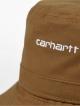 Carhartt WIP Script Bucket Hat (hamilton brown/white)