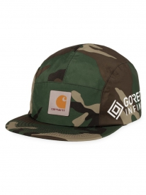 Carhartt WIP Gore Tex Point Cap (camo laurel)
