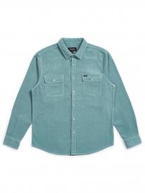 Brixton Bowery Cord Hemd (jade)