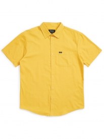 Brixton Charter Oxford Kurzarmhemd (sunset yellow)