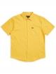 Brixton Charter Oxford Kurzarmhemd (sunset yellow)