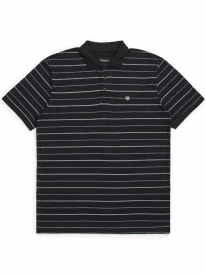 Brixton Hilt Polo T-Shirt (black)