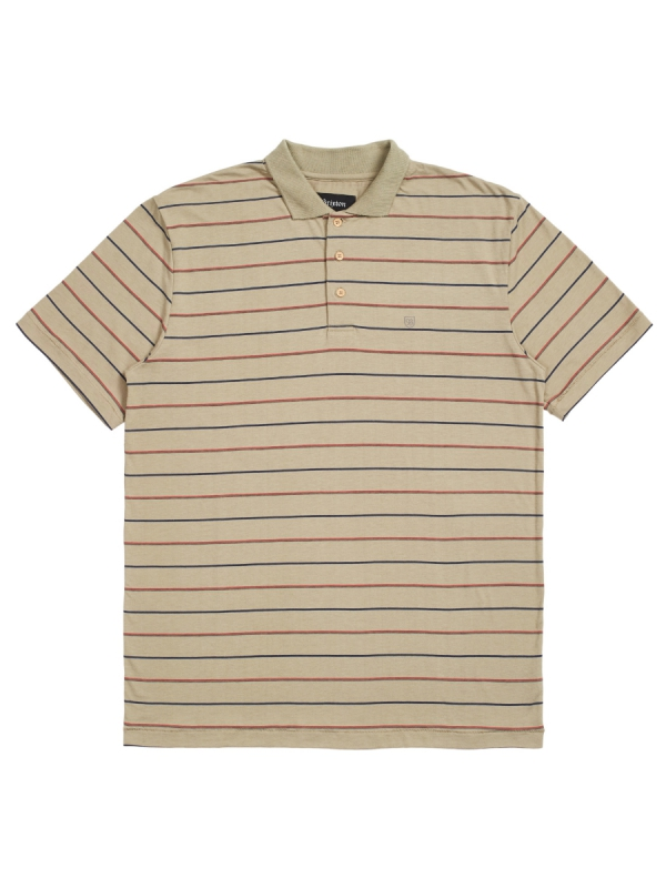 Brixton Hilt Polo T-Shirt (rock)