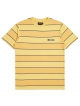 Brixton Hilt Print T-Shirt (sunset yellow/washed navy)