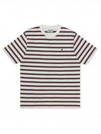 Carhartt WIP Oakland T-Shirt (oakland stripe/wax/treehouse)