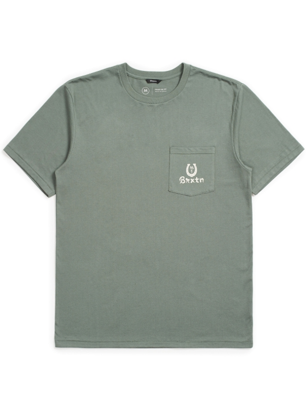 Brixton Fortune Pocket T-Shirt (cypress)