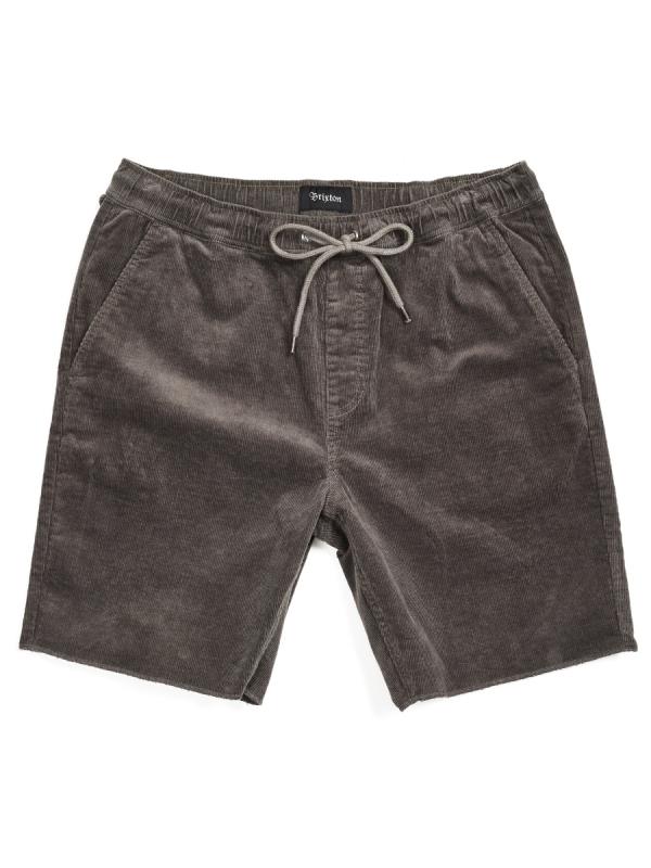 Brixton Madrid II Cord Short (charcoal)