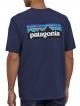 Patagonia P6 Logo Responsibili T-Shirt (classic navy)