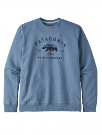 Patagonia Arched Fitz Roy Bear Uprisal Sweater (pigeon blue)