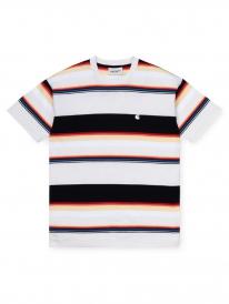 Carhartt WIP Sunder T-Shirt (sunder stripe/wax/wax)
