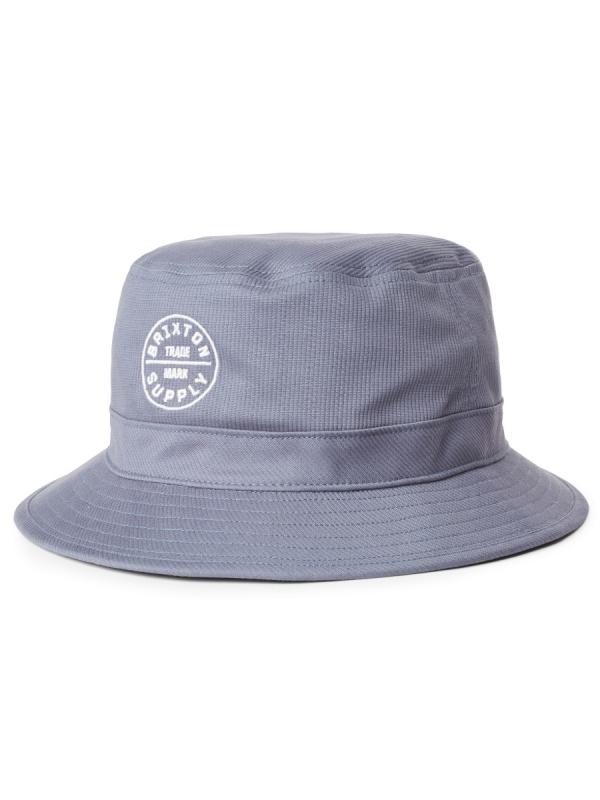 Brixton Oath Bucket Hat (slate blue)