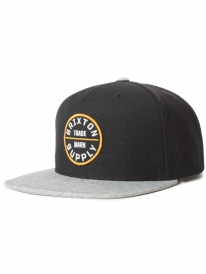 Brixton Oath 3 Cap (black/heather grey)