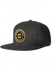Brixton Oath 3 Cap (heather charcoal)