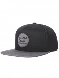Brixton Wheeler Cap (black/charcoal)
