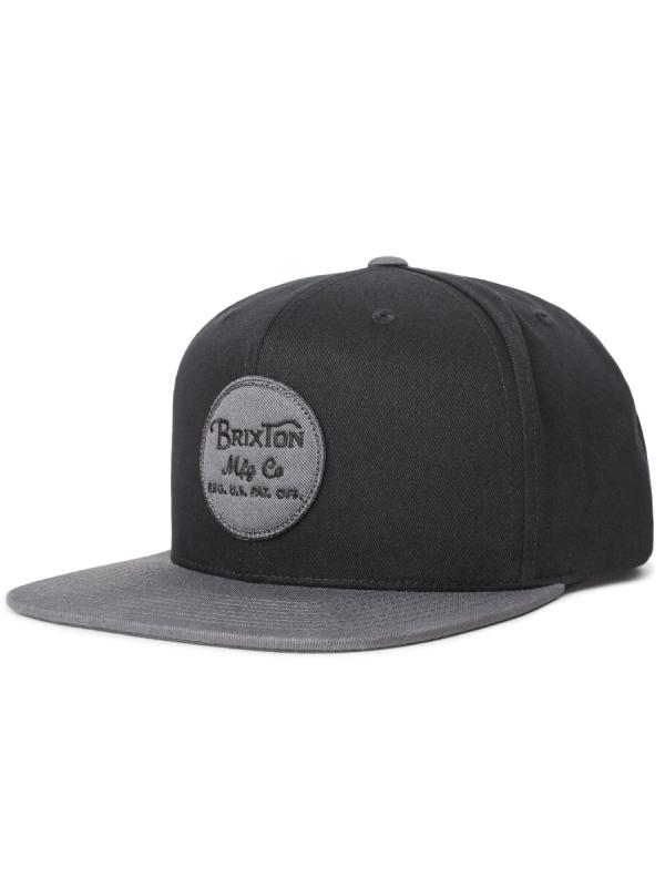Brixton Wheeler Cap (black/charcoal)