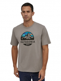 Patagonia Fitz Roy Scope Organic T-Shirt (feather grey)