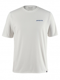 Patagonia Capilene Cool Daily Graphic T-Shirt (boardshort logo/white)