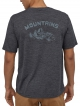 Patagonia Capilene Cool Daily Graphic T-Shirt (playlands mountains/smolder blue x-dye)
