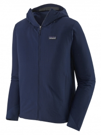 Patagonia R1 Techface Hooded Jacket (classic navy)
