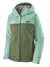 Patagonia W Torrentshell 3L Jacket (gypsum green)
