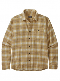 Patagonia Lightweight Fjord Flannel Hemd (grange/surfboard yellow)
