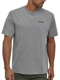 Patagonia P6 Logo Responsibili T-Shirt (gravel heather)