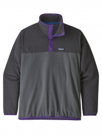 Patagonia Micro D Snap-T Fleece Sweater (forge grey)