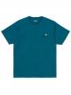 Carhartt WIP American Script T-Shirt (moody blue)