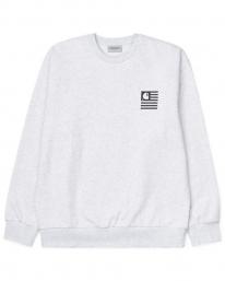 Carhartt WIP State Chromo Sweater (ash heather)