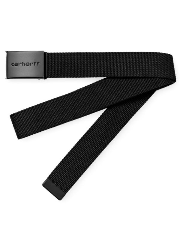 Carhartt WIP Clip Tonal Gürtel (black)
