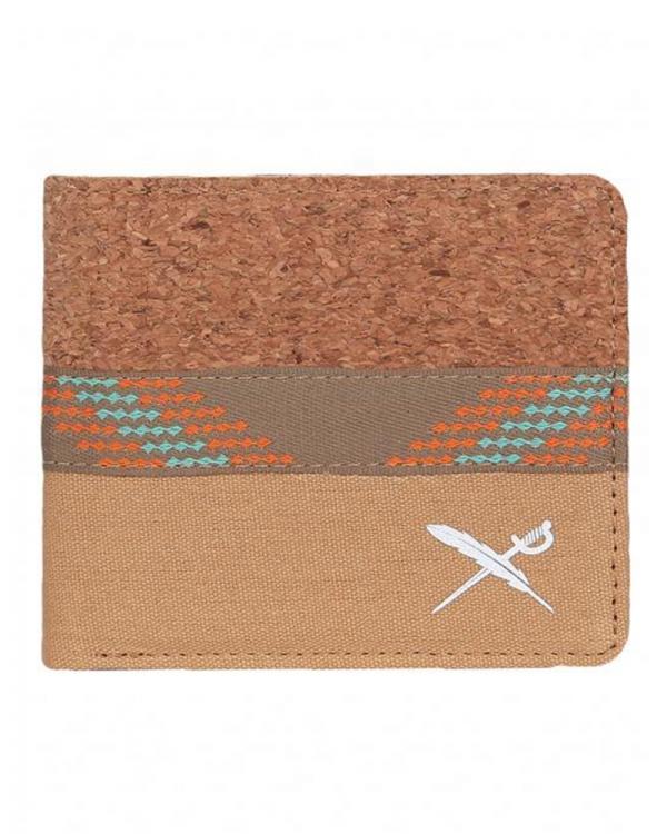 Iriedaily Cork Mix Wallet (light brown)