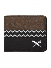 Iriedaily Cork Mix Wallet (black)