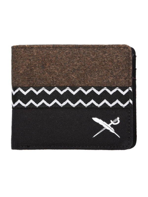 Iriedaily Cork Mix Wallet (black)
