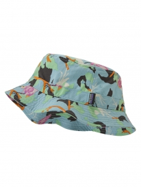 Patagonia Wavefarer Bucket Hat (spoonbills/big sky blue)