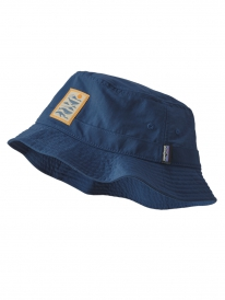 Patagonia Wavefarer Bucket Hat (whale tail tubes/stone blue)
