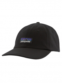 Patagonia P6 Label Trade Cap (black)